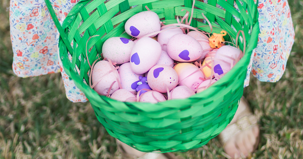 @mego's cover photo for 'Our Candy-Free Easter Egg Hunt'