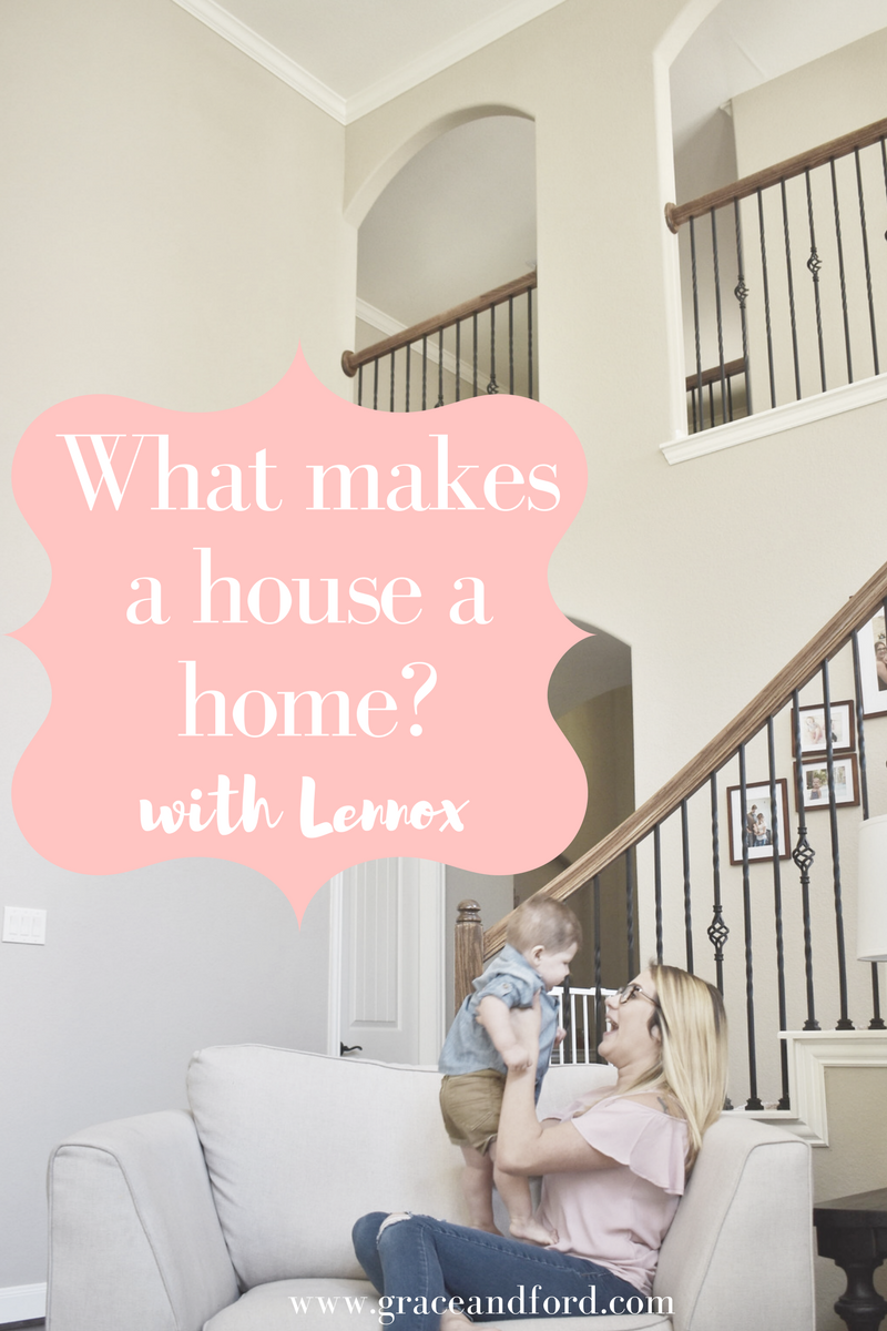 @jesssicaconner's cover photo for 'What Makes A House A Home? With Lennox - Grace + Ford'