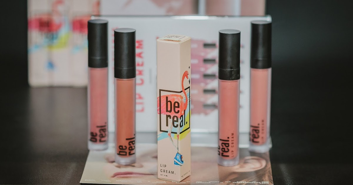 @tasyanandyasj's cover photo for 'MADE IN INDONESIA : BE REAL LIP CREAM (REVIEW AND SWATCHES)'