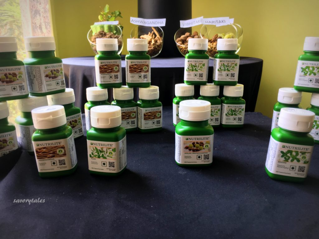 @savorytales's cover photo for 'Amway Launches Nutrilite Traditional Herbs Range'