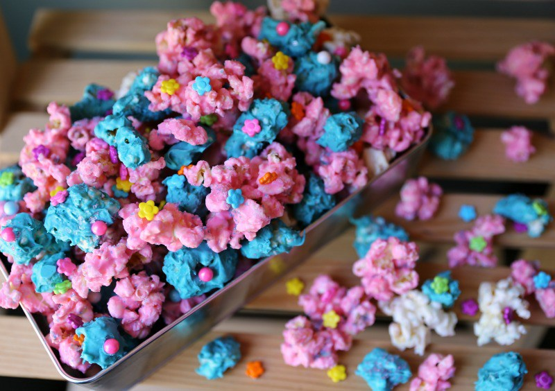 @jennlbrockman's cover photo for 'Troll's Candied Popcorn Recipe'