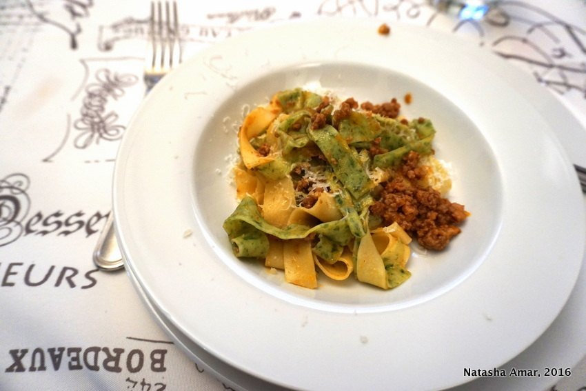 @thebohochica's cover photo for 'Learning the Art of Cooking Pasta in Italy'