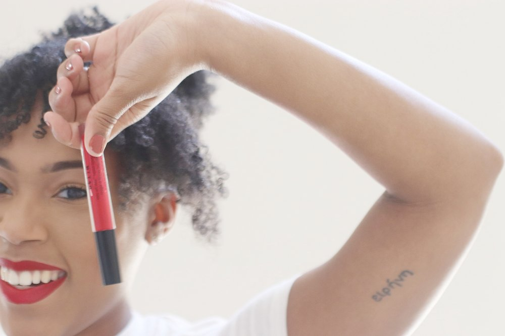 @imanhoward's cover photo for 'My Favorite Red Lip | Beso by Stila'