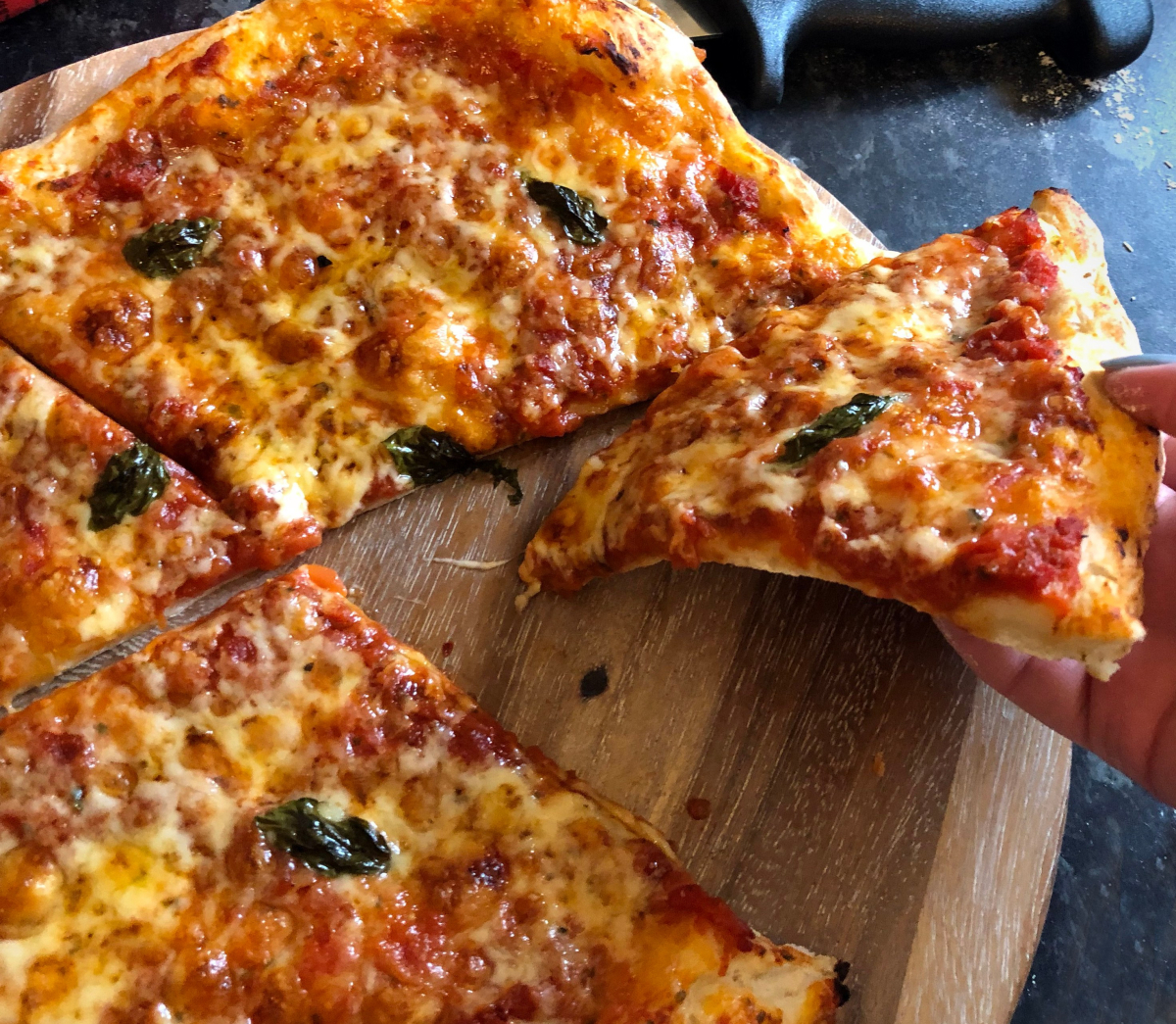 @frannlauren's cover photo for 'Cotswold pizza flour review and cheddar & tomato pizza recipe'
