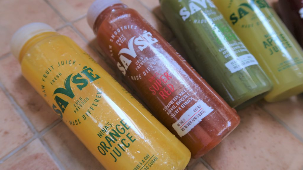 @iamfarahfaz's cover photo for 'Healthy Choices In Healthy Juices With Savse - World of Faz'