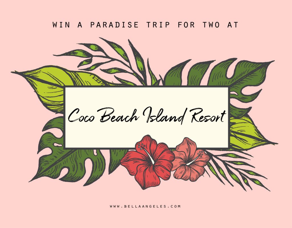 @bellaangeles's cover photo for 'Giveaway: Paradise Trip to Coco Beach Island Resort [CLOSED] | BellaAngeles.com'
