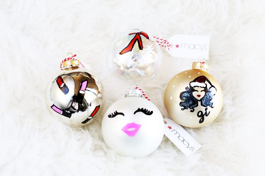 @gissij's cover photo for 'Live Drawing X-mas Ornaments with Macy's - The Architect of Style'