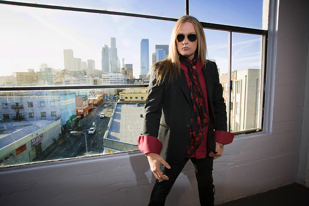 @louisraphael's cover photo for 'Q&A: Sebastian Bach is Back in the Bay'