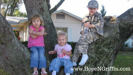 @hopengriffin's cover photo for 'How To Navigate Motherhood While Your Spouse Is Deployed - Hope N. Griffin'