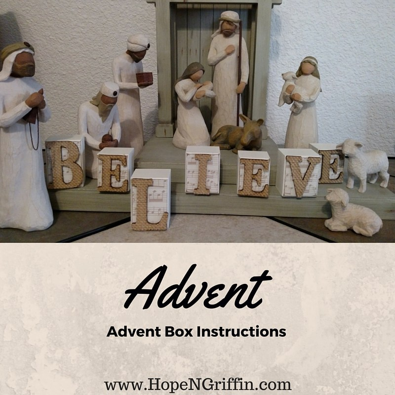 @hopengriffin's cover photo for 'Advent - Creating a Season of Anticipation'