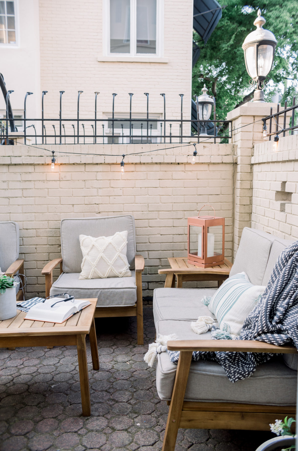 @darlingdownsouth's cover photo for 'Summer Patio Refresh with At Home Stores - Darling Down South'