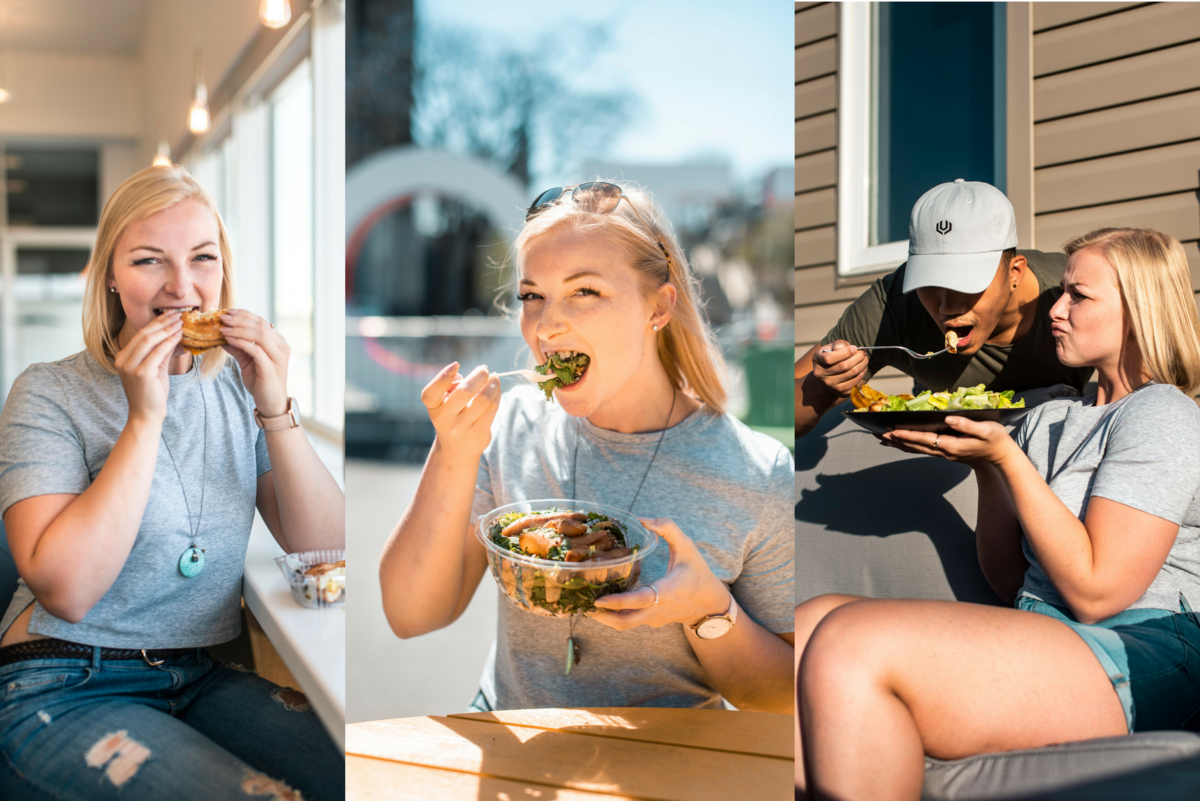 @malloryrowan's cover photo for 'My full day of eating using Uber Eats (and still tracking my macros!)'