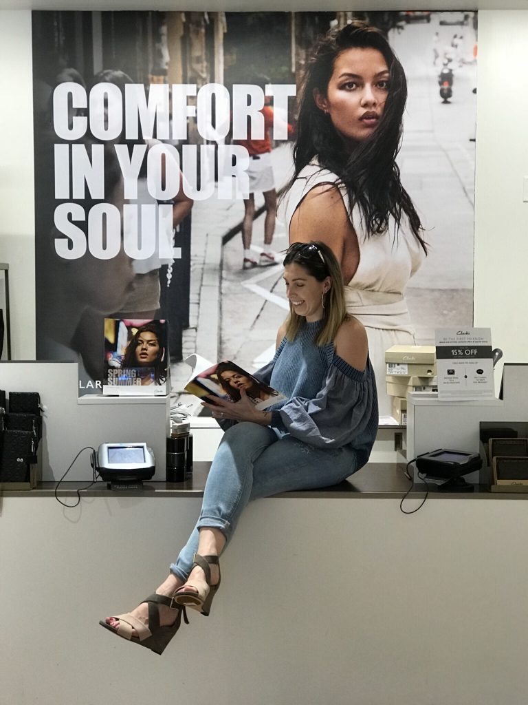 @style.her.savvy's cover photo for 'Shoe Shopping with Clarks: Not Your Mother's (or Grandmothers) Shoes'