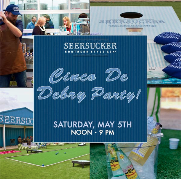 @vodkagirlatx's cover photo for 'SEERSUCKER DISTILLERY CELEBRATES GRAND OPENING WITH CINCO (VODKA) DE DERBY PARTY'