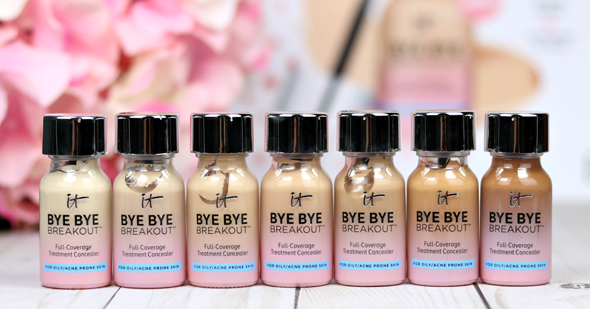 @perfectlyleila's cover photo for 'It Cosmetics Bye Bye Breakout: Review!'
