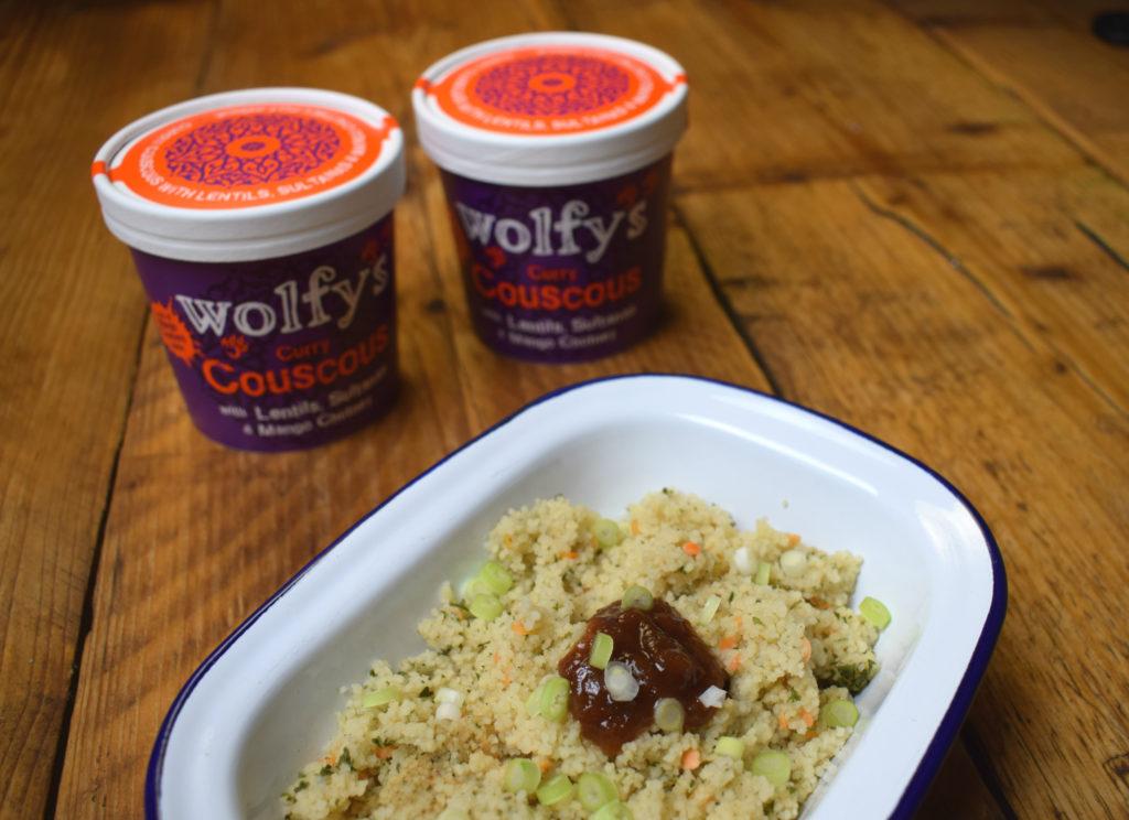 @vegan_punks's cover photo for 'Wolfy's Couscous - Vegan Punks'