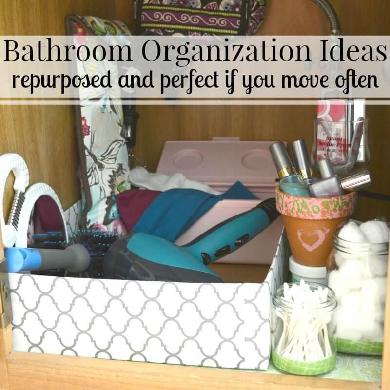 @organized31's cover photo for 'Free Bathroom Organization Ideas - Organized 31'