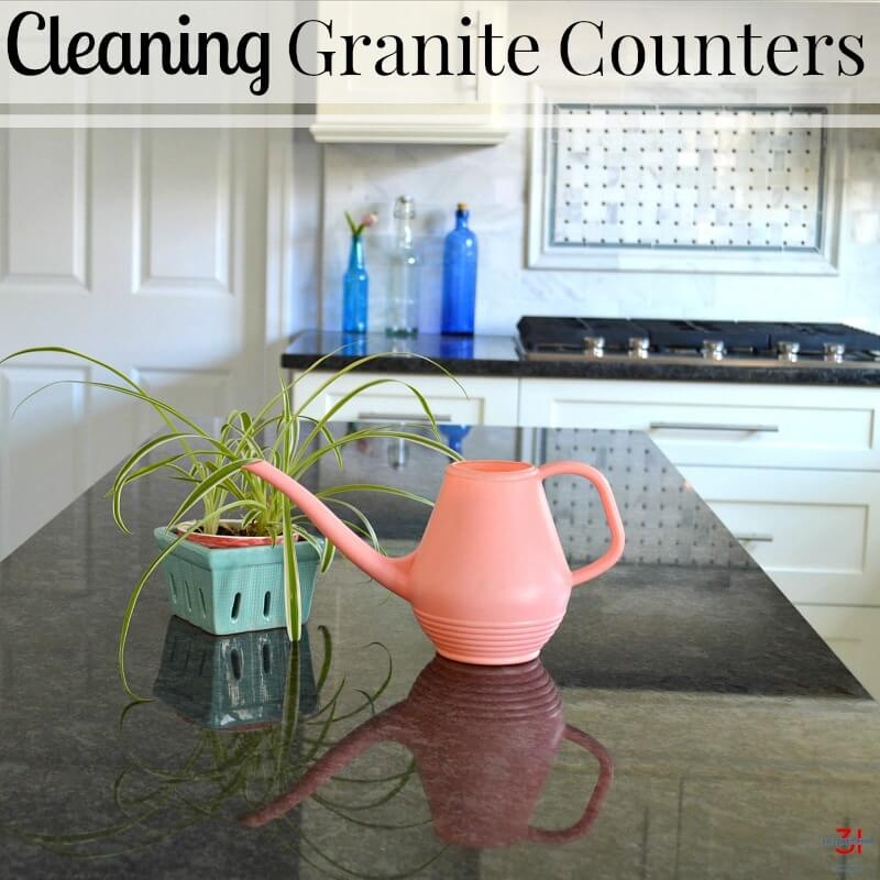 @organized31's cover photo for 'Cleaning Granite Counters - Organized 31'