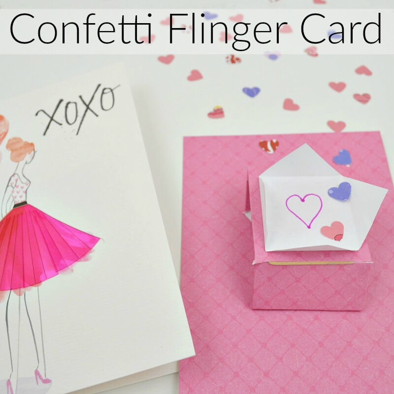 @organized31's cover photo for 'Confetti Flinger Card Insert - Organized 31'