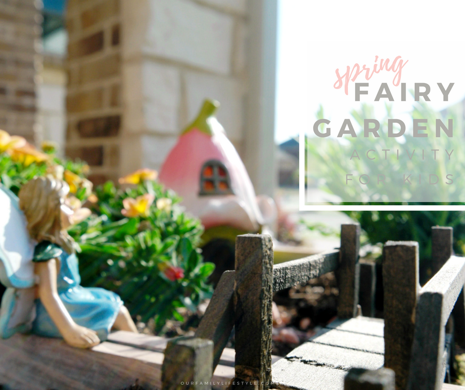 @our.familylifestyle's cover photo for 'Spring Fairy Garden Activity for Kids'