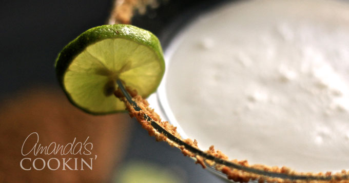 @amandaformaro's cover photo for 'Key Lime Pie Martini'