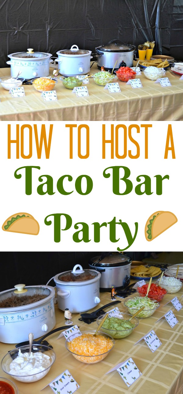 @censiej's cover photo for '#DIY Taco Bar Party - Table Tents Free Printables | Building Our Story'