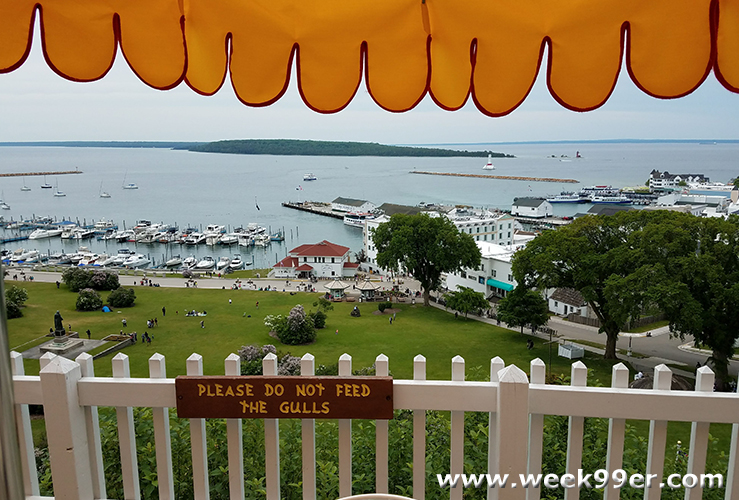 @week99er's cover photo for 'Step Inside and Dine in the Oldest Building in Michigan - Fort Mackinac's Tea Room #ThisIsMackinac #MakeItMackinac #PureMichigan #MackinacIsland'