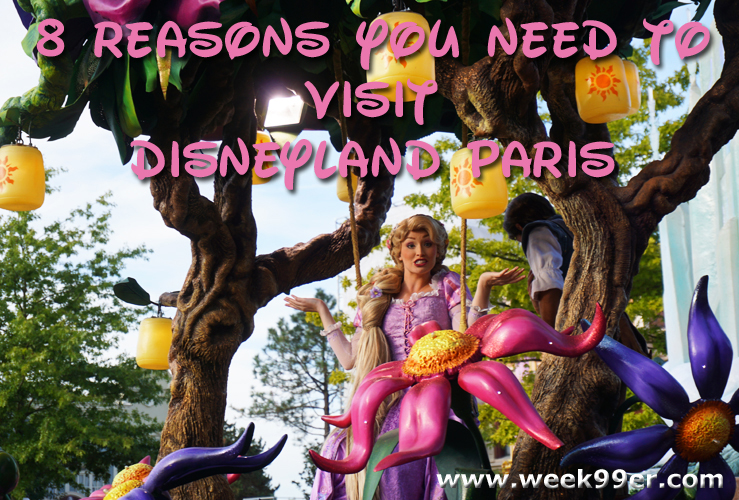 @week99er's cover photo for '8 Reasons You Need to Visit Disneyland Paris #disneylandparis #wanderreal'