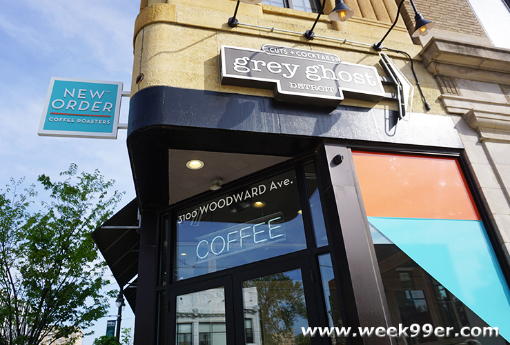 @week99er's cover photo for 'Custom Brews & a Great Space to Work at New Order Coffee #VisitDetroit'