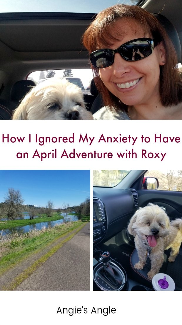 @penguinsangel's cover photo for 'How I Ignored My Anxiety to Have an April Adventure with Roxy'