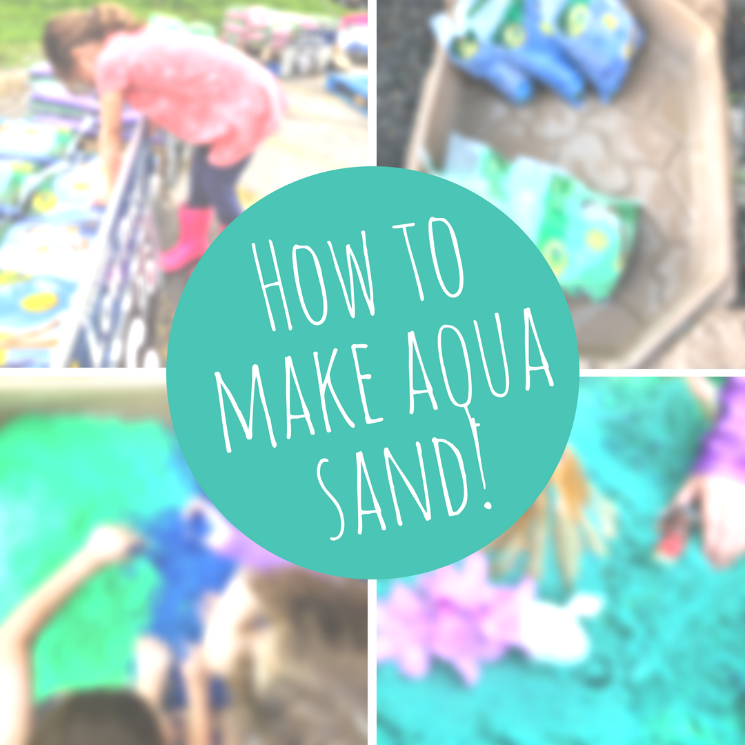 @nowaywaynos's cover photo for 'Making Aqua sand with Crayola PlaySand!'