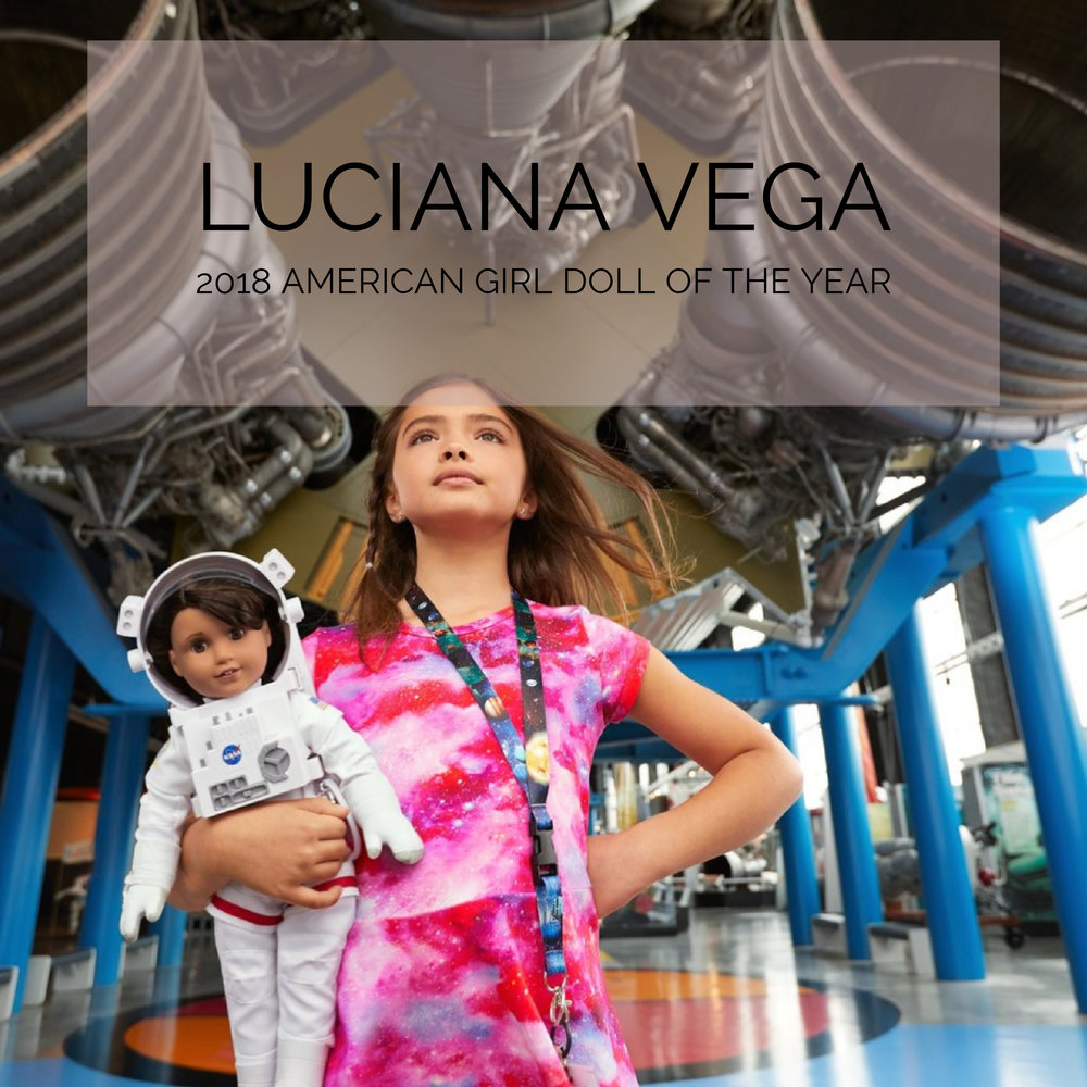 @tiarastantrums's cover photo for 'American Girl's 2018 Girl of the Year Is Luciana Vega Aspiring Astronaut'