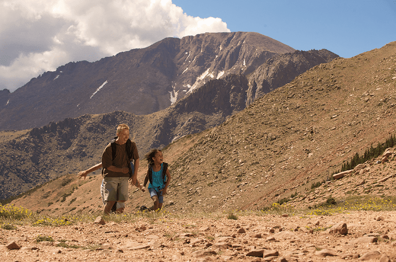 @lilfamadventure's cover photo for '14 Easy, Family Friendly Trails when Hiking Colorado Springs   Little Family Adventure'