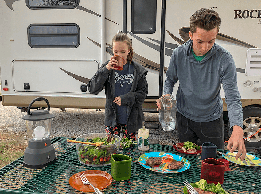 @lilfamadventure's cover photo for 'Update Your Camping Gear with this EcoSurvivor LED Camping Lantern   Little Family Adventure'