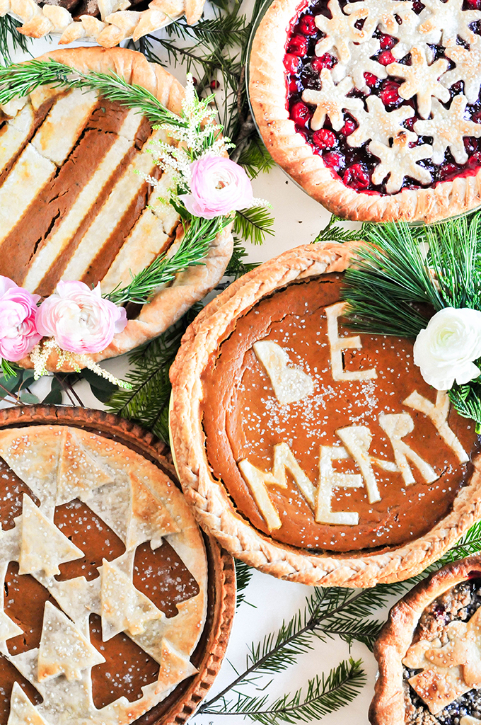 @theproperblog's cover photo for 'Yum Holiday Pie Crust Designs To Wow Your Friends - PROPER'