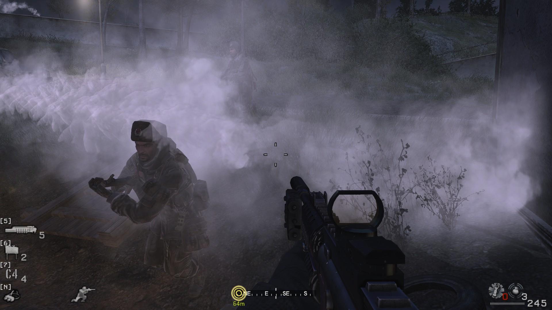 @bellamyswift's cover photo for 'Nostalgic Sands: Call of Duty 4 Modern Warfare »'