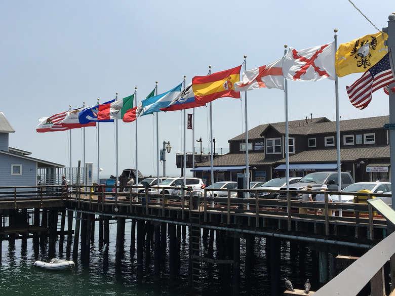 @wheregalswander's cover photo for 'Stearns Wharf, Santa Barbara - Where Gals Wander'