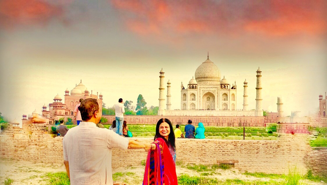 @jaxvegancouple's cover photo for 'Incredible India'