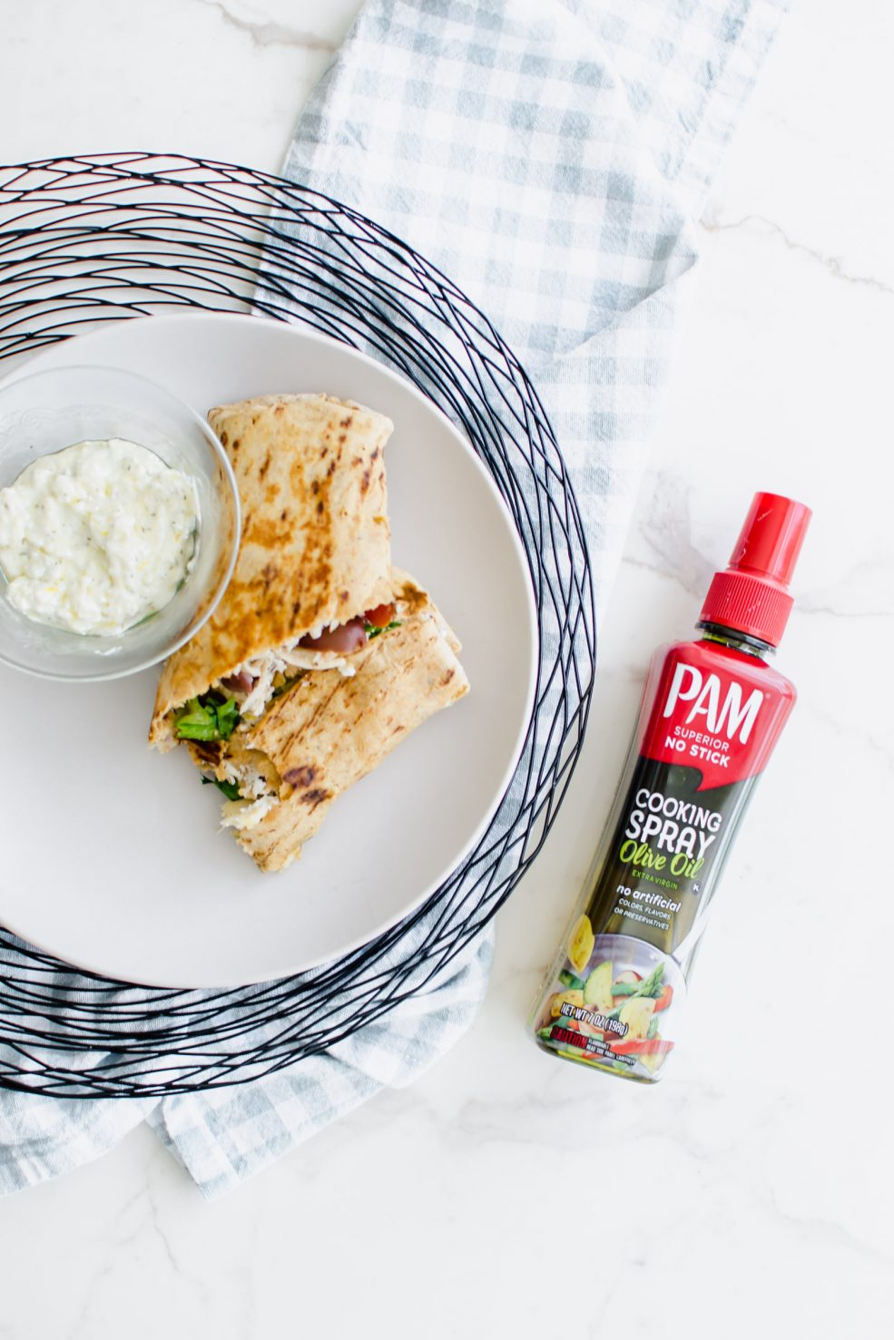@sweetcayenne5's cover photo for 'Greek-Style Chicken Crunchwrap - An Easy, High-Protein Lunch or Dinner'