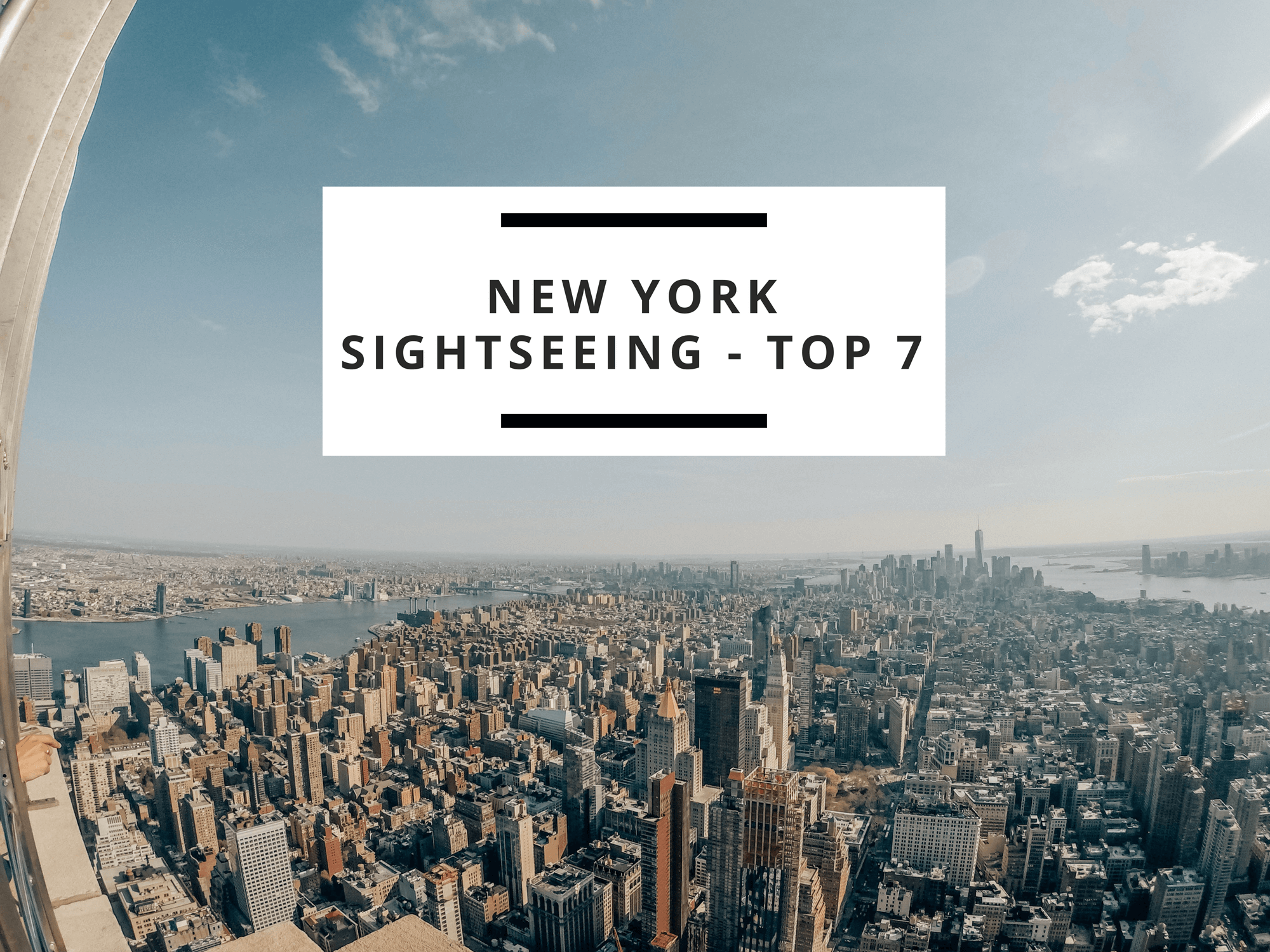 @perfelicious's cover photo for 'New York Sightseeing – list of 7 must-see attractions'