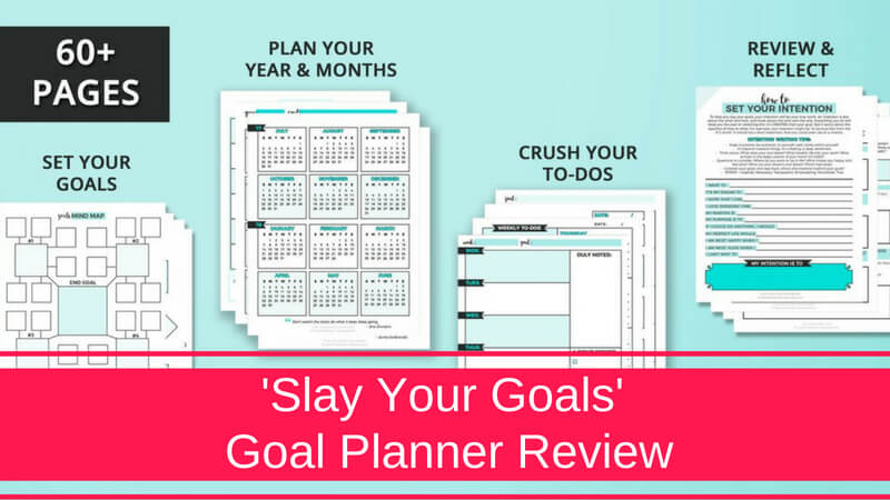 @ellymcguinness's cover photo for 'Goal Planner Template | 'Slay Your Goals' Goal Planner Review'