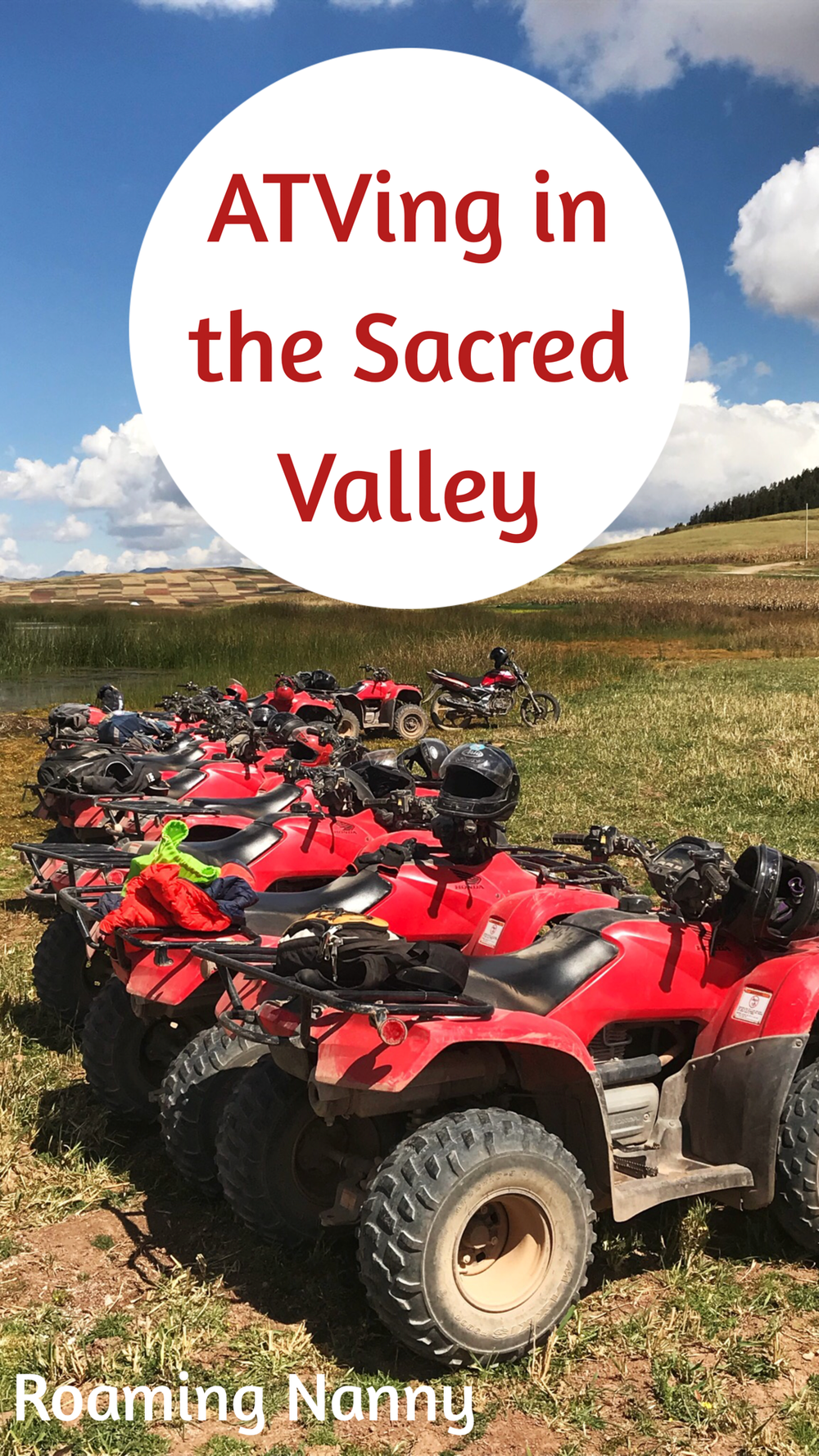 @roamingnanny's cover photo for 'ATVing in the Sacred Valley with Willka Travel'