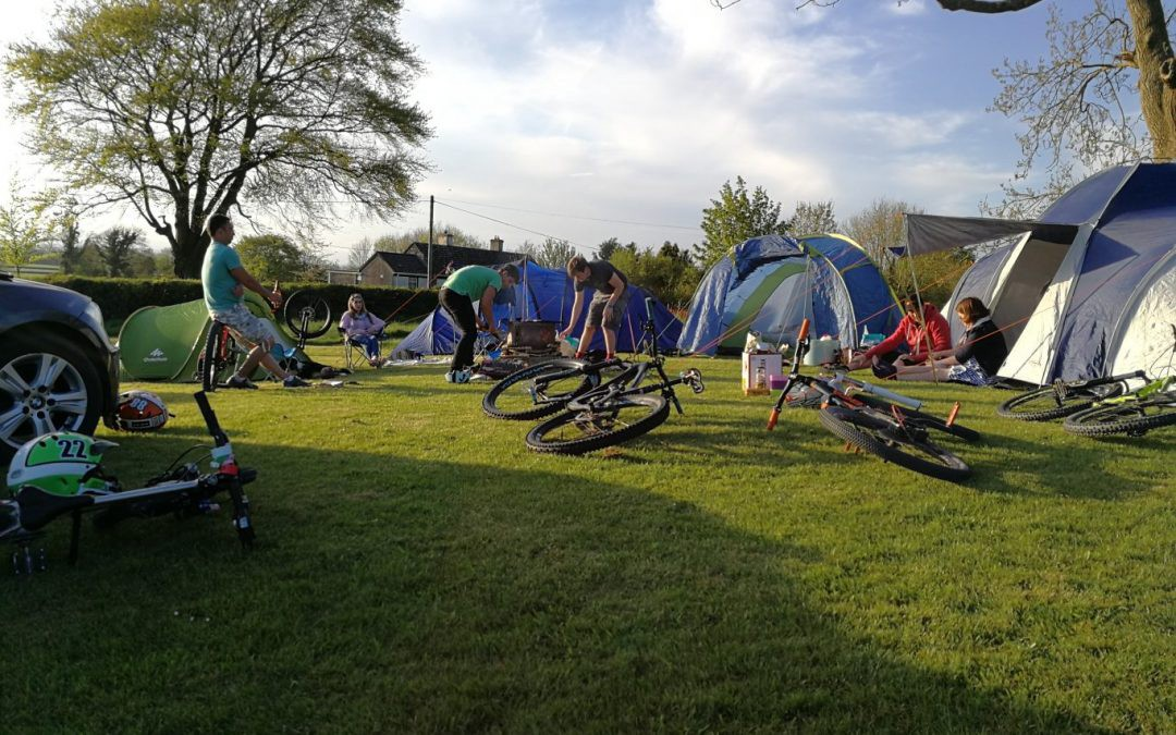 @emerald_mtb's cover photo for 'Camping at Bike Park Ireland – Emerald MTB – Medium'