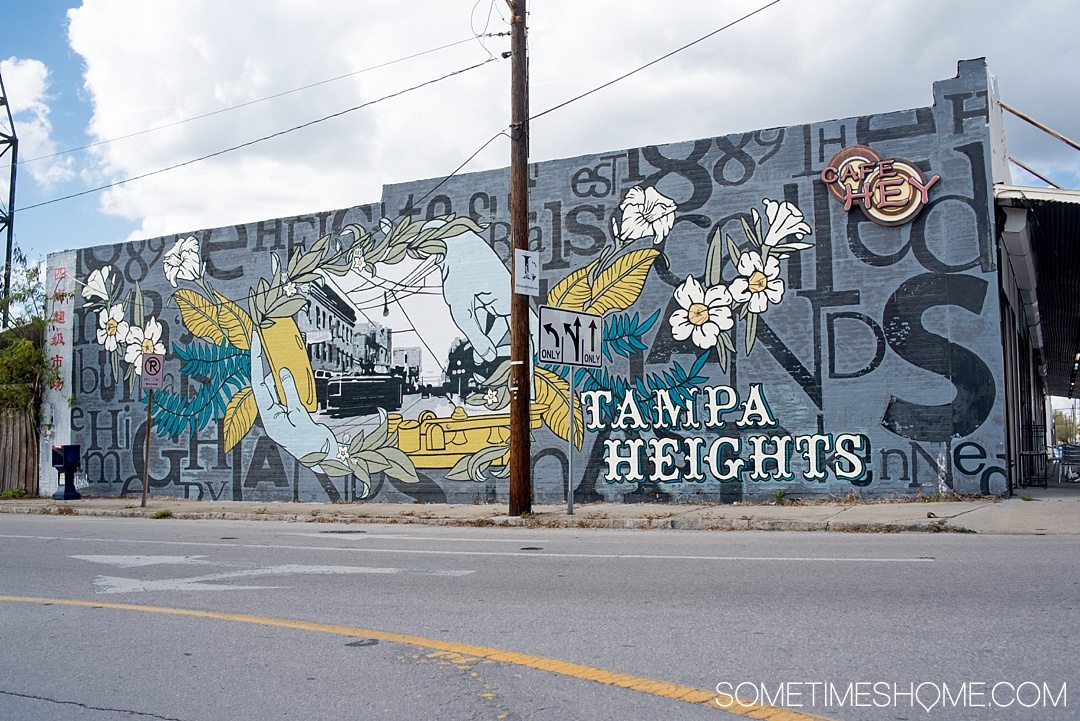@sometimeshome's cover photo for 'Street Murals in Tampa Bay Florida and Where to Find Them'