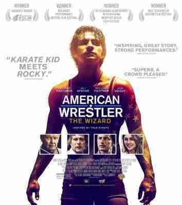 @notinhall's cover photo for 'American Wrestler: The Wizard, Classic Sports Movie'
