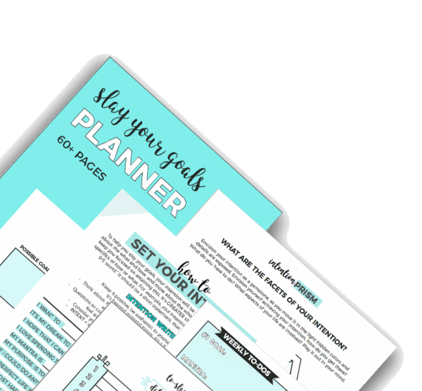 @lisadesignslife's cover photo for 'Slay Your Goals in 2018 - Blog and Biz Planner Review - Lisa Designs Life'