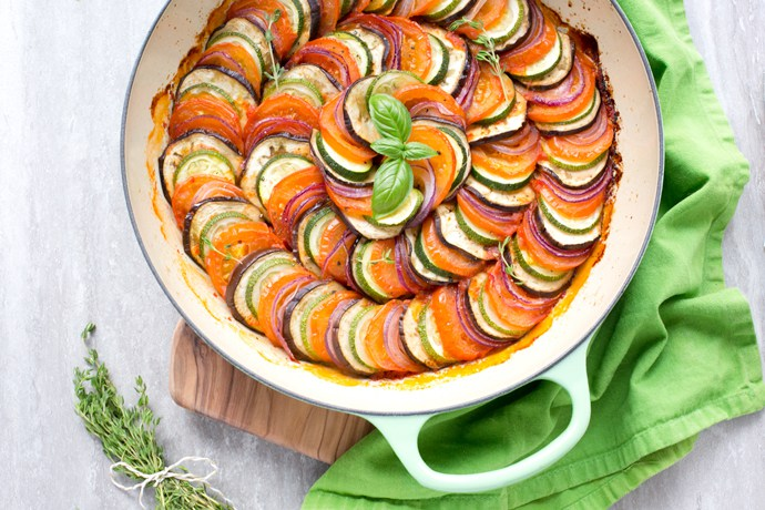 @thepetitecook's cover photo for 'Easy Ratatouille - The Petite Cook'