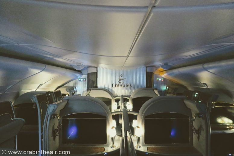 @crabintheair's cover photo for 'Review: Emirates A380 First Class Suite'