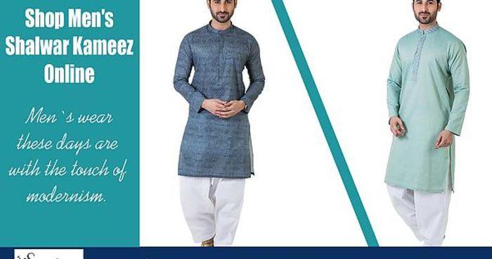@shopsalai's cover photo for 'Shop Online Mens shalwar kameez USA | Listly List'