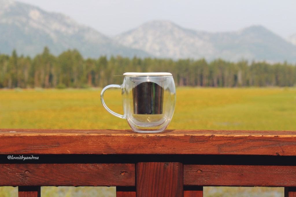 @loveitbyandrea's cover photo for 'TeaBloom Mug & Tea Infuser | Review » Love It!!! By Andrea'